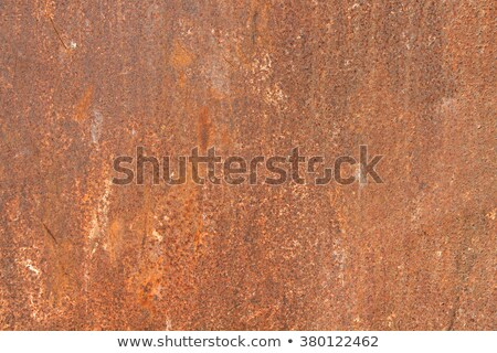 Narancs festett rozsdás lap fém terv Stock fotó © Zerbor
