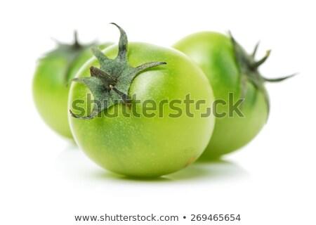 緑 トマト ジューシー 赤 テクスチャ 食品 ストックフォト © Walmor_