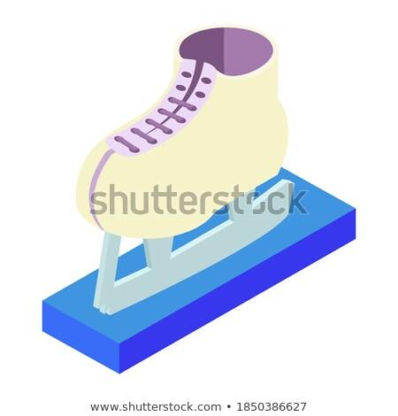 bota · ilustração · vetor · estilo · esboço · isolado - foto stock © popaukropa