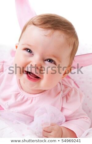 cute baby girl in fairy costume Stock photo © zven0