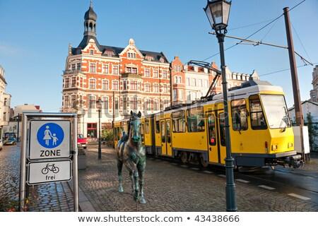 Alexanderplatz estação Berlim Alemanha ver fernsehturm Foto stock © nito