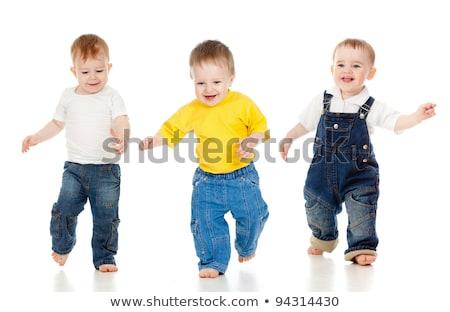 スライド · 子供 · 実例 · ウォータースライド · 少年 · スイミング - ストックフォト © robuart
