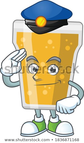 Cartoon Drunk Detective  Stock photo © cthoman