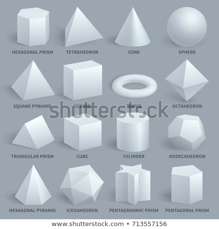 educational basic geometric shapes Stock photo © izakowski