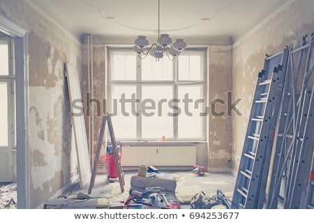 ruined old ceiling plaster Stock photo © romvo