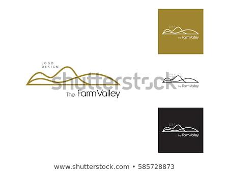mountain hill vector logo icon sign stock photo © blaskorizov