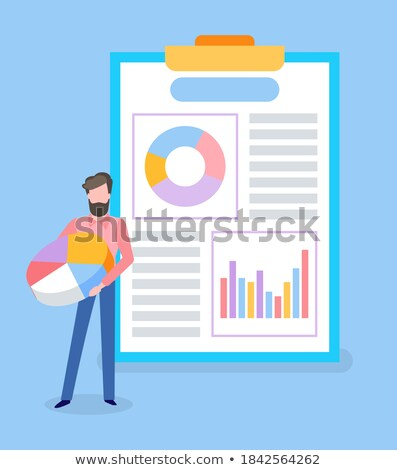 Data Visual Representation of Business Results Stock photo © robuart