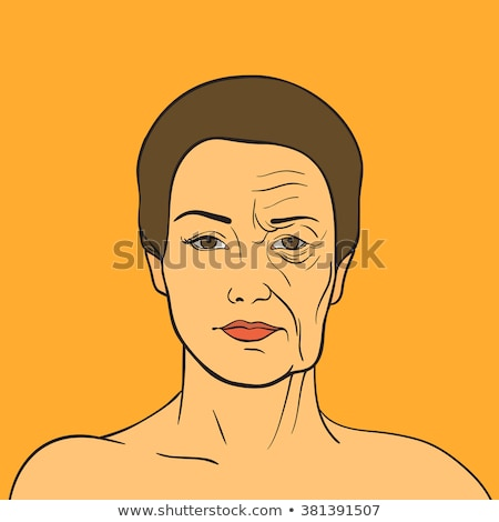 Woman After Face Lifting On Her Face Stock photo © AndreyPopov