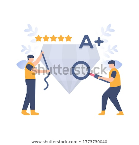 Standard for quality control concept landing page. Stock photo © RAStudio