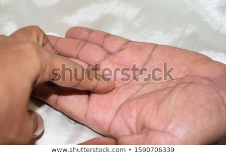 Stock photo: Hand of fate ?