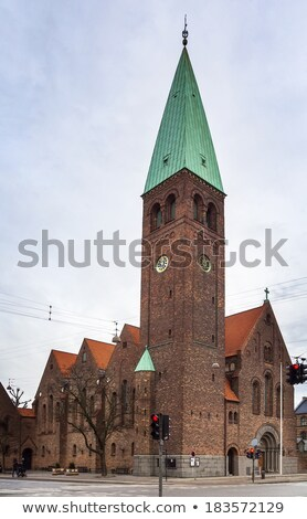 St. Andrew's Church, Copenhagen Stock photo © borisb17