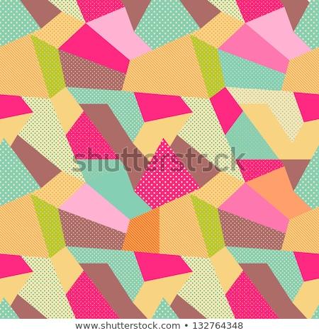 vintage · dibujado · a · mano · hilo · agujas · papel · viejo · ropa - foto stock © netkov1