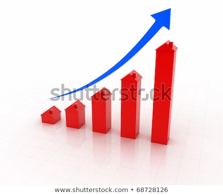 inflating house graph stock photo © visualdestination