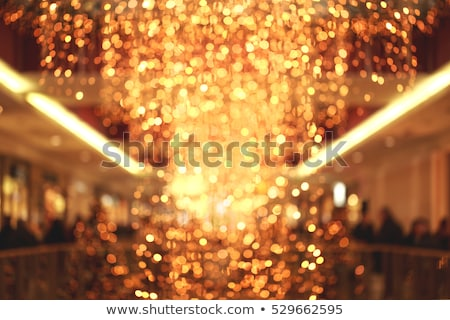 Glamorous gold shiny glow and glitter, luxury holiday background Stock photo © Anneleven