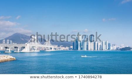 Marine city skyscrapers in Busan, South Korea Stock photo © dmitry_rukhlenko