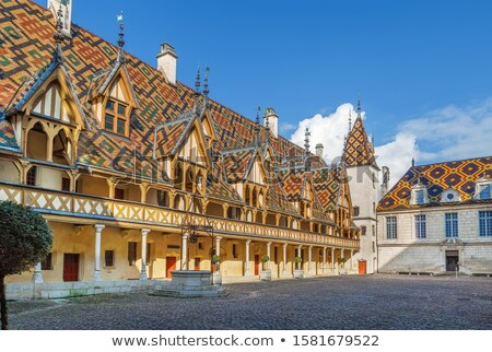 famous hospice in Beaune, France Stock photo © meinzahn
