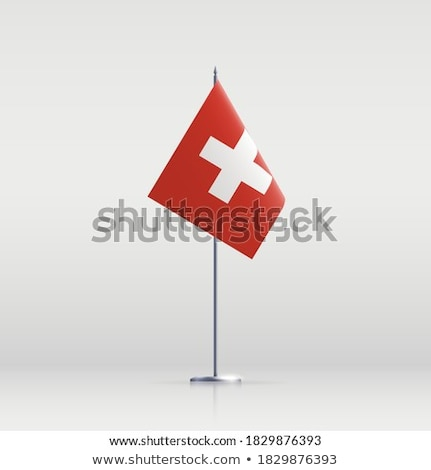 Swiss Confederation flag  Stock photo © grafvision