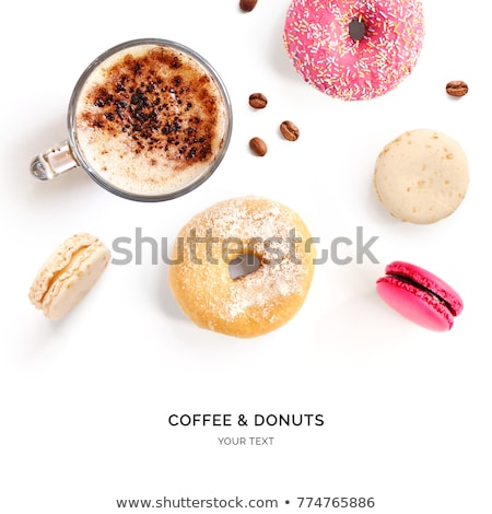 coffee and macaroon Stock photo © M-studio