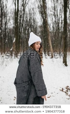 着用 · ゴージャス · ドレス · 暗い · 美しい - ストックフォト © carlodapino