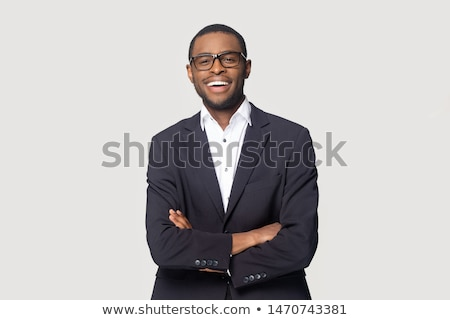 Portrait of a young nerd Stock photo © vankad