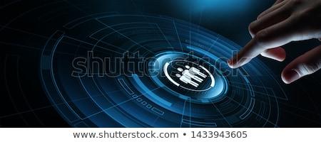 Headhunting Concept. Stock photo © tashatuvango