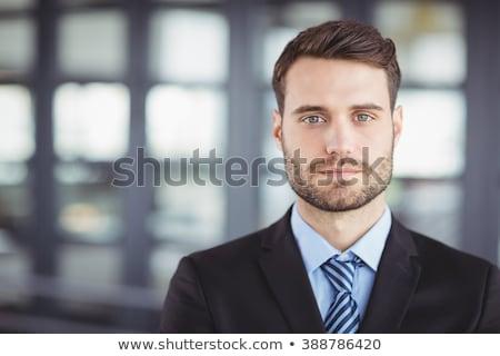 Man witte triest portret mannelijke Stockfoto © wavebreak_media