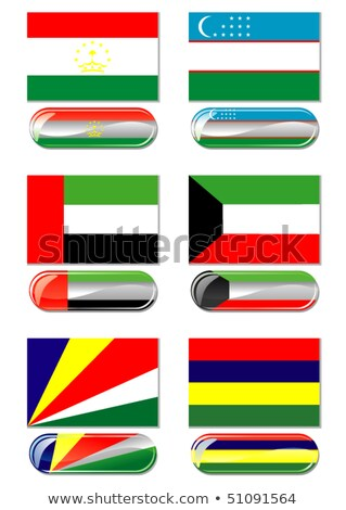United Arab Emirates and Mauritius Flags Stock photo © Istanbul2009