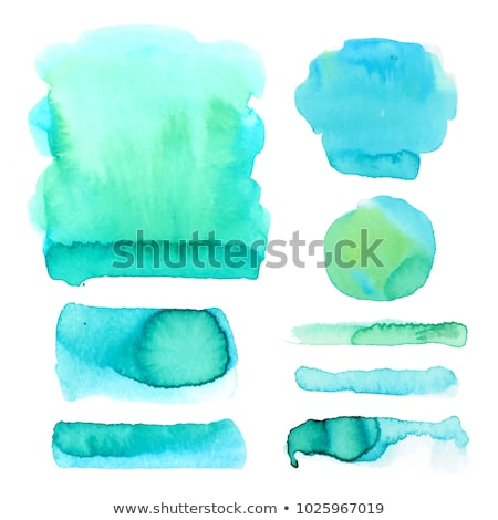 colorful set of watercolor stain collection vector Stock photo © SArts