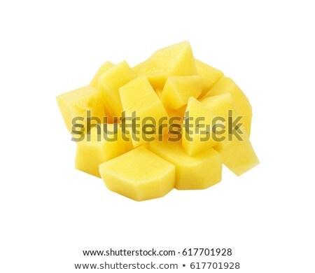 ruw · aardappel · schil - stockfoto © digifoodstock
