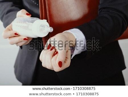 Woman checking briefcase at home  Stock photo © wavebreak_media