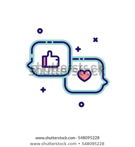 カップル チャット 泡 デジタル複合 ビジネス ストックフォト © wavebreak_media