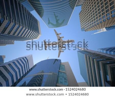 repülőtér · épület · infrastruktúra · utazás · levegő · szállítás - stock fotó © m_pavlov