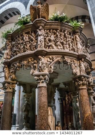 battistero pisa interior view piazza del duomo stock photo © pixachi