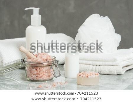 Himalayan Salt Soap Bar Stock photo © Stocksnapper