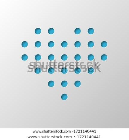 coração · círculo · rotação · ícone · logotipo · vetor - foto stock © expressvectors