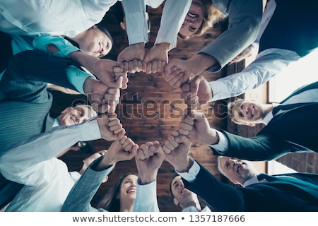 Team of Corporate Business Workers in Formal Wear Stock photo © robuart