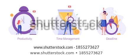 Businessman alarmed at his laptop Stock photo © photography33
