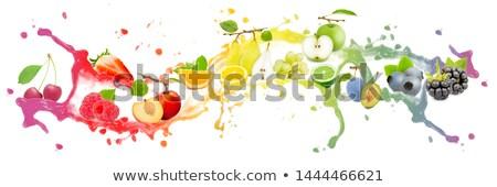 Odizolowany świeże dojrzały jabłko żywności owoców Zdjęcia stock © M-studio