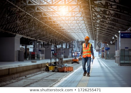 the repair railroad station  Stock photo © OleksandrO