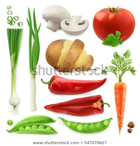 Carrots and champignons Stock photo © AGfoto