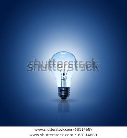 électriques ampoule carré ampoule idée Photo stock © robuart
