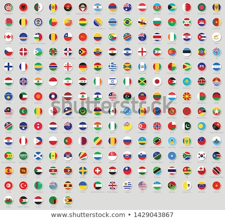 All national flags of the world stickers with names. Rounded flags, circular design, stickers. High  Stock photo © ukasz_hampel