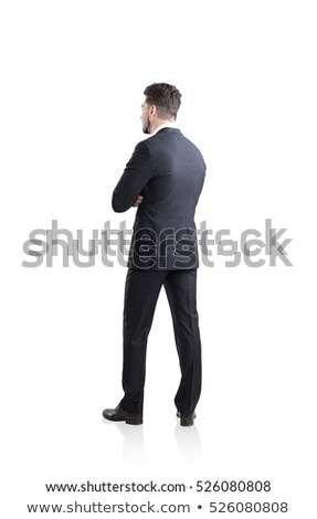 Geïsoleerd shot geslaagd mannelijke manager elegante Stockfoto © vkstudio