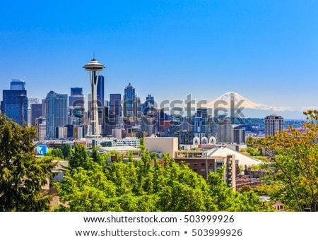 vue · centre-ville · Seattle · Washington - photo stock © davidgn