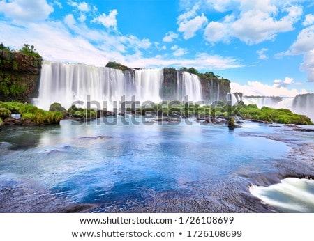 Wspaniały jeden siedem naturalnych wody dżungli Zdjęcia stock © faabi