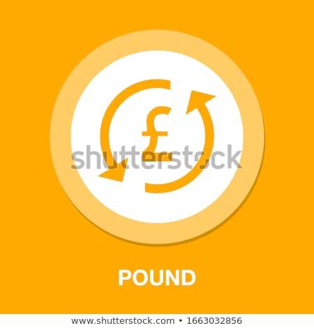 Soldi pulsante vettore web finanziaria obiettivo Foto d'archivio © burakowski