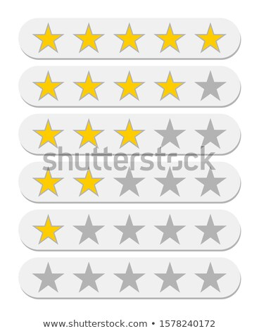 Rating buttons. Stock photo © timurock