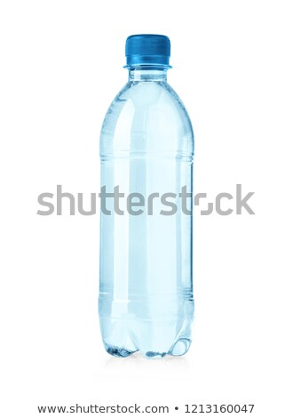 Mineral water in bottle  isolated white. Clipping path. Stock photo © borysshevchuk