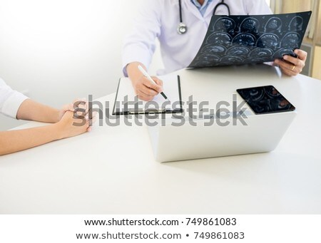 professor doctor discussion a method with patient treatment res stock photo © freedomz