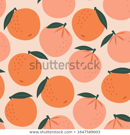 Trópusi rajz gyümölcsök végtelen minta kiwi görögdinnye Stock fotó © barsrsind